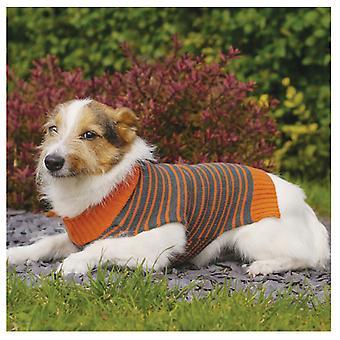 Pet Clothing Stripe Sweater Medium 38cm