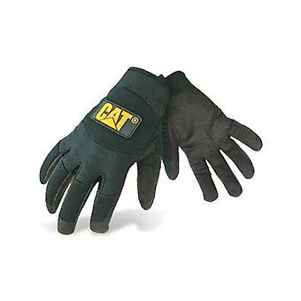 Caterpillar 12211 Mens Mechanic Gloves Black Male Workwear