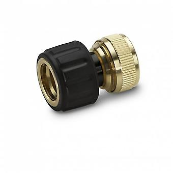 Kärcher Adapter 3/4  With Aquastop (Brass) 26450180