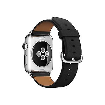 Apple 42mm Classic Buckle - Klockrem - svart - för Watch (42 mm)