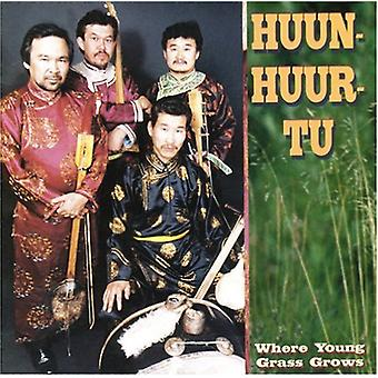 Huun-Huur-Tu - Where Young Grass Grows [CD] USA import