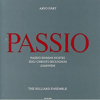 A. Part - Arvo P Rt: Passio [CD] USA import