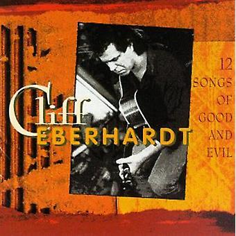 Cliff Eberhardt - 12 sange af god & Evil [CD] USA importerer