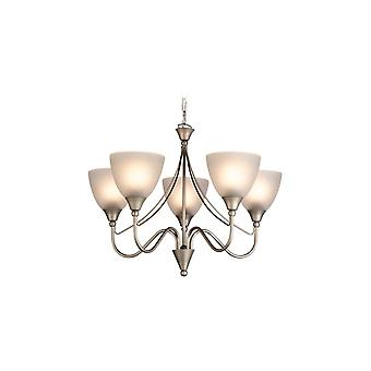 Firstlight Antique Satin Steel 5 Wall Sconce Fitting