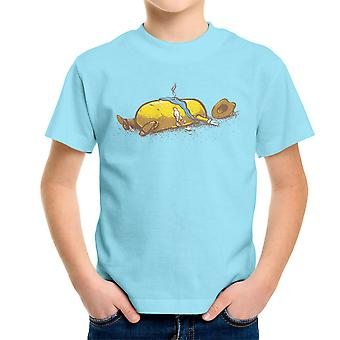 Fist volledige Tinkey Cowboy Western Kid's T-Shirt