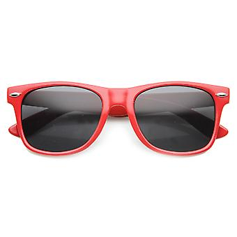 Unisex Square Sunglasses With UV400 Protected Composite Lens