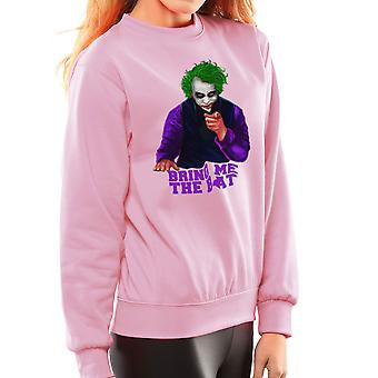 Batman Joker Bring Me The Bat Women's Sweatshirt