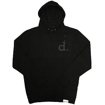 Diamond Supply Co Tonal Un Polo Hoodie Black