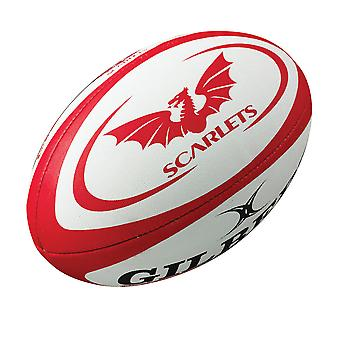 GILBERT skarlagen mini rugby ball