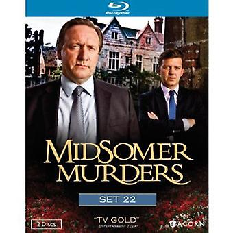 Midsomer Murders: Set 22 [BLU-RAY] USA import