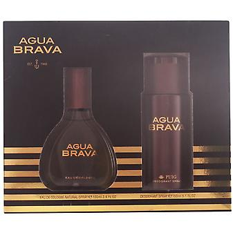 Puig Agua Brava Pack 2 Pieces (Man , Perfumes , Gift Wraps)