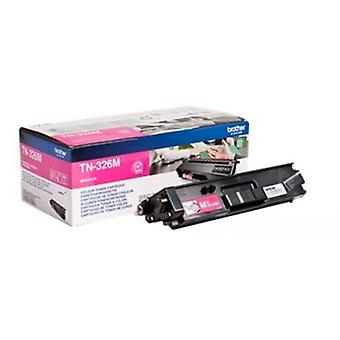 Brother TN-326 M intermittens av magenta (3500 sidor)