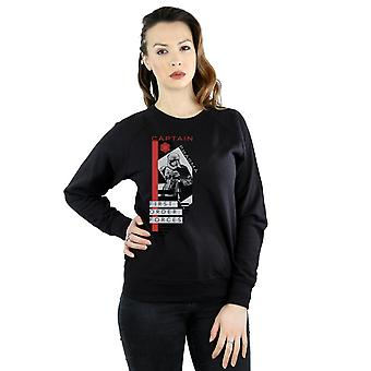 Star Wars Women's The Last Jedi Captain Phasma Sweatshirt