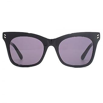 Stella McCartney Essentials a culminé Cateye lunettes de soleil en noir