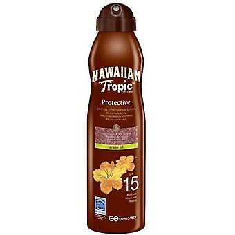 Hawaiian Tropic Protector Dry Oil Spray SPF 30 Mist 180 ml