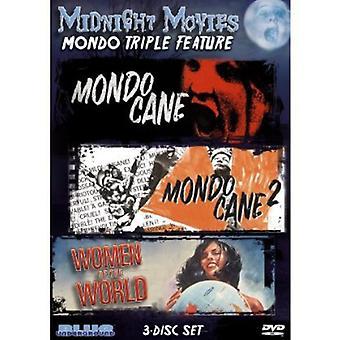 Midnat film - midnat film: Vol. 11-Mondo tredobbelt funktion [DVD] USA import
