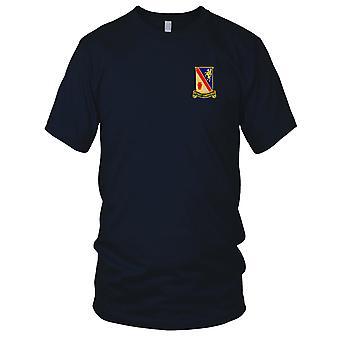 E.U. Exército - 628th suporte batalhão bordada Patch - Mens T-Shirt