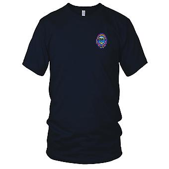 US Navy SSN-772 USS Greeneville Embroidered Patch - Mens T Shirt