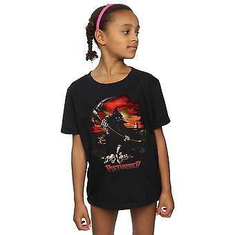 Disturbed Girls Battle Grounds T-Shirt