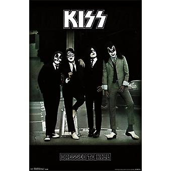 Kiss - Dressed to Kill Poster Poster afdrukken