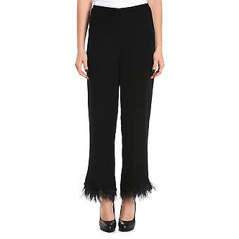 Jucca ladies J2624003003 black viscose Pant