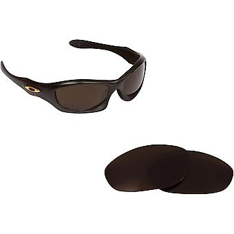 Monster Dog Replacement Lenses Bronze Brown & Ruby Red by SEEK fits OAKLEY