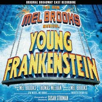 Broadway Cast - Young Frankenstein: Nye Mel Brooks musikalske [originale Broadway Cast optagelse] [CD] USA importen