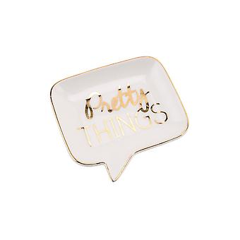 CGB Giftware Absolutely Fabulous Speech Bubble Ceramic Dish