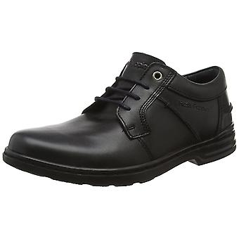 Hush Puppies Barnet Hanston Mens Leather Formal Lace Up Shoes