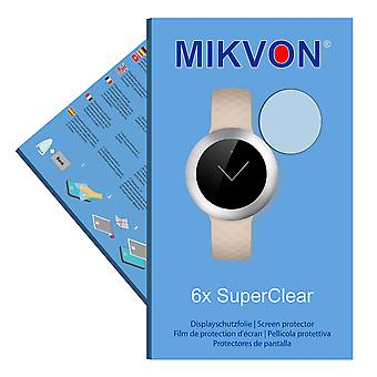 Huawei Band B0 screen protector- Mikvon films SuperClear (intentionally smaller than the display due to its curved surface)