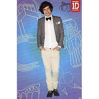 اتجاه واحد--هاري-البوب طباعة ملصق