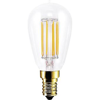LED E14 Rod 4.7 W = 35 W Warm white (Ø x L) 45 mm x 100 mm EEC: A+ Segula Filament, dimmable 1 pc(s)