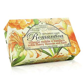Nesti Dante Romantica Sensuous Natural Soap - Noble Cherry Blossom & Basil 250g/8.8oz