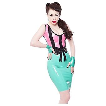 Westward Bound Sundae Latex Rubber Dress.