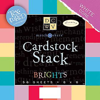 Textured Brights Cardstock Stack 8
