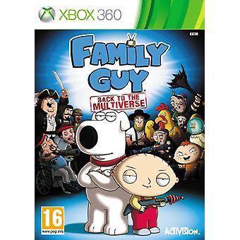 Family Guy tillbaka till Multiverse (Xbox 360)