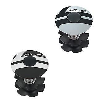XLC AP-S01 преднагрузки Cap 1″ / / черный/серебристый