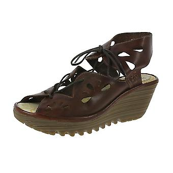 Fly London Yote Wedge Sandals