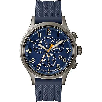 Timex mens watch Allied chronograph 42 mm silicone strap TW2R60300