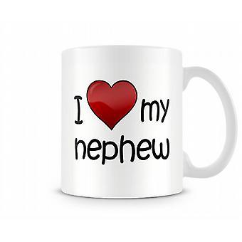 Amo la mia tazza stampata nipote