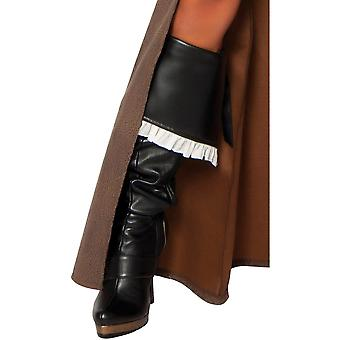 Roma RM-4242B Womens Delux Pirate Captain Boot Cover