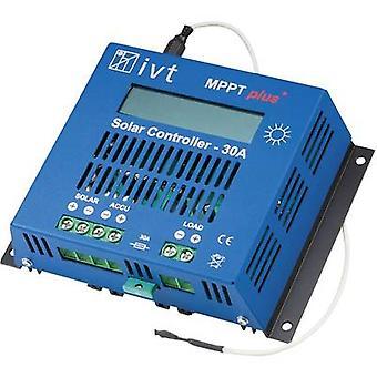 Controlador de carga IVT MPPTplus 30A MPPT 12 V, 24 A 30 V