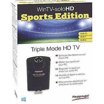 Hauppauge WinTV-soloHD sport Edition TV stick incl. DVB-T antenne, optagelse funktion. tunere: 1