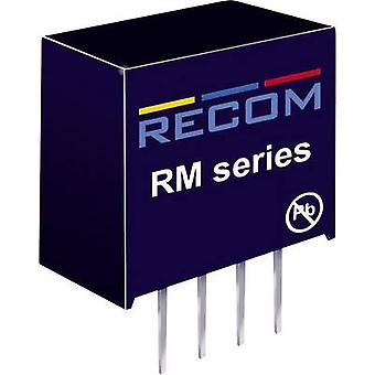 RECOM RM-0505S/HP DC/DC converter (print) 5 Vdc 5 Vdc 50 mA 0.25 W No. of outputs: 1 x