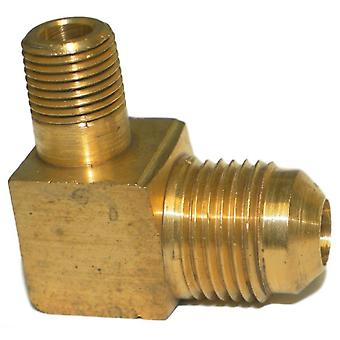 Big A Service Line 3-14962 90 deg Male To Male Elbow Brass Fitting 3/8
