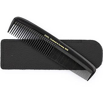 ZOHL Small Mens Hair Comb In Leather Case 13cm