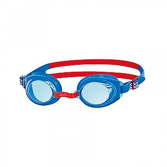Zoggs Ripper Junior Swim Goggle 6-14yrs- Tinted Lens - Blue Frame