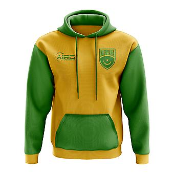 Mauritania Concept Country Football Hoody (Yellow)