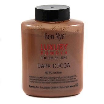 Ben Nye Luxus Powder, dunklen Kakao 3oz