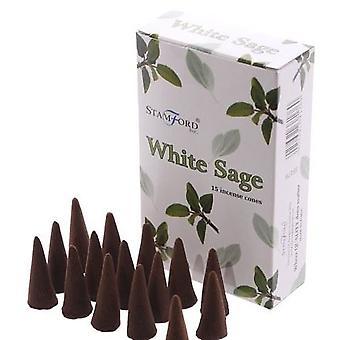Stamford Incense Cones - White Sage
